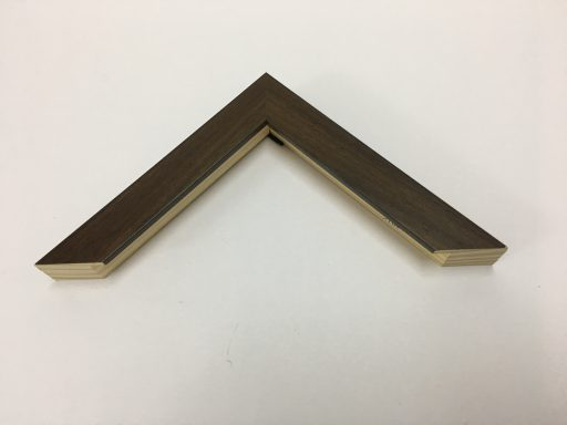 REGULAR WOOD 3 CM BROWN FRAME
