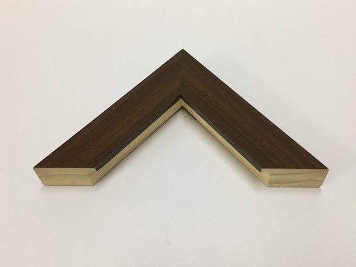 REGULAR WOOD 4 CM BROWN FRAME