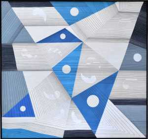 Introvision - XII | Geometric Painting by S.K Sahni | Buy Original Art | Art Rental | Sell Arts Online UAE - ArtSmiley