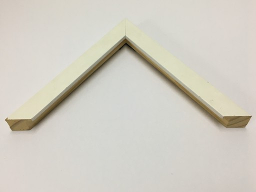 REGULAR WOOD 2 CM WHITE FRAME