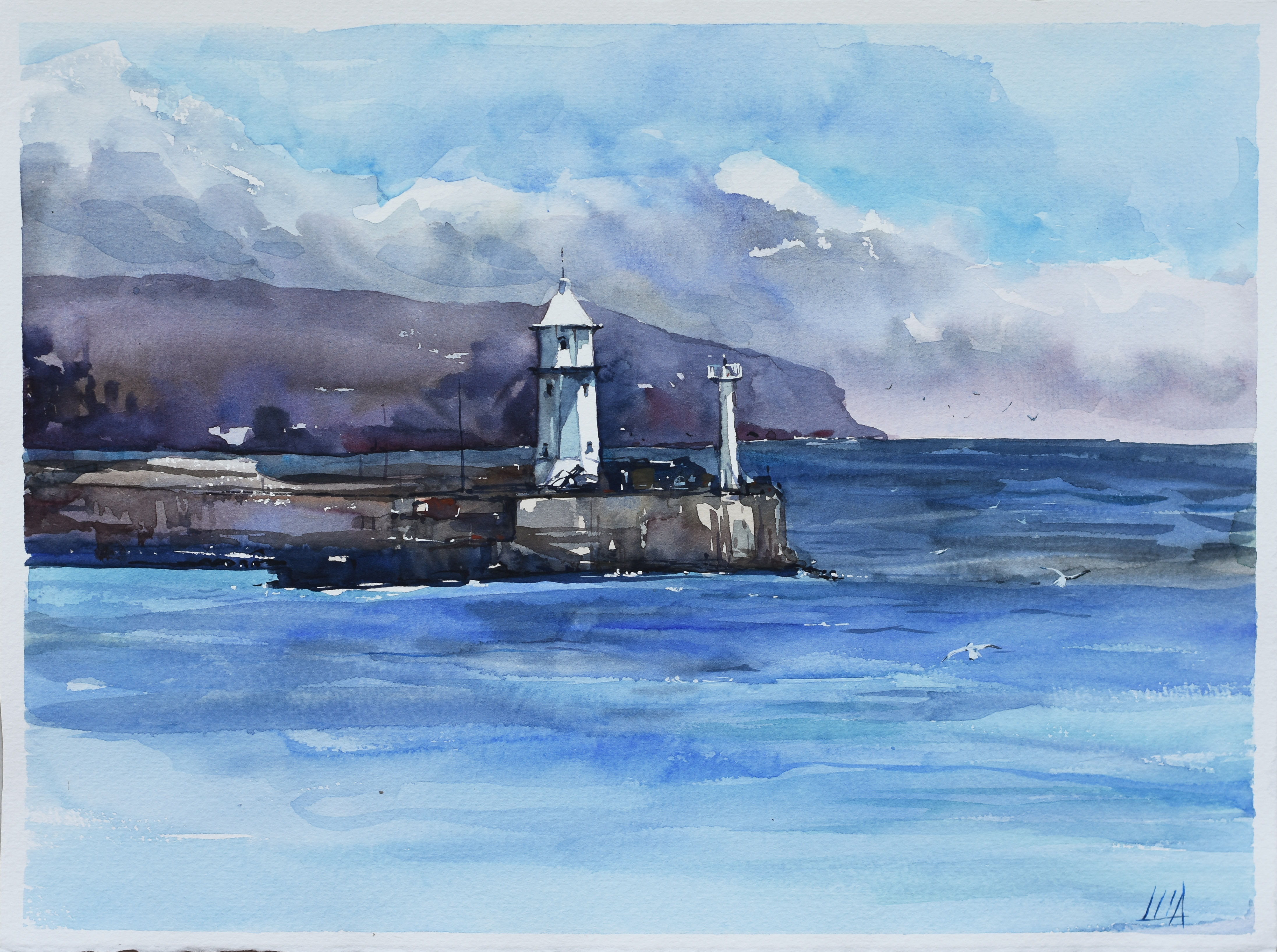 Lighthouse in the Black Sea