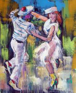 The Dance Portraits Painting