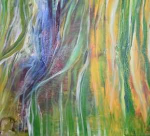 Forest Sunshine | Abstract Expressionistic Painting by Minika Swetta | Buy Affordable Original Art Online Dubai UAE | Paintings | Art Rentals | Paintings Online Sale | UAE Paintings for Sale | Abstract Paintings for Sale Online Dubai | Original Art for Sale | Art for Sale | Art Prints | Sell International Arts Online - Art Smiley